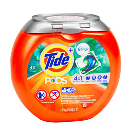 Tide Laundry Pods with Febreze - Botanical Rain - 43's