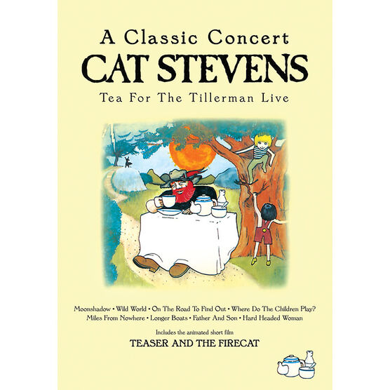 Cat Stevens - Tea for the Tillerman Live - DVD