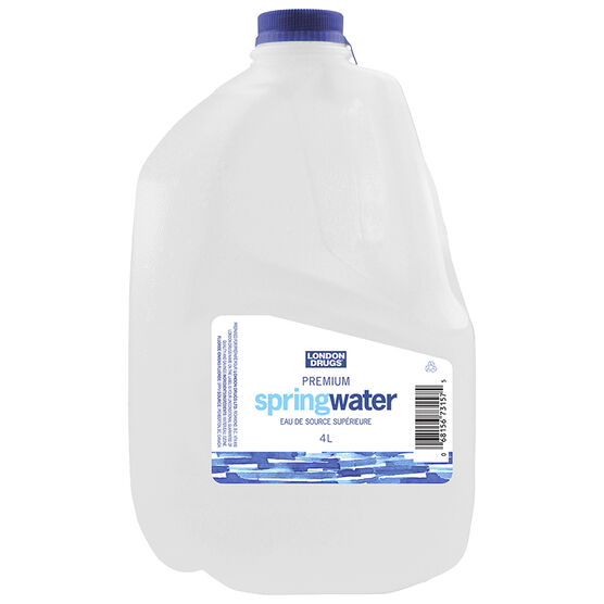 London Drugs Premium Spring Water - 4L