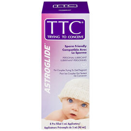 Astroglide TTC Trying to Conceive Sperm Friendly Lubricant - 8 x 5ml