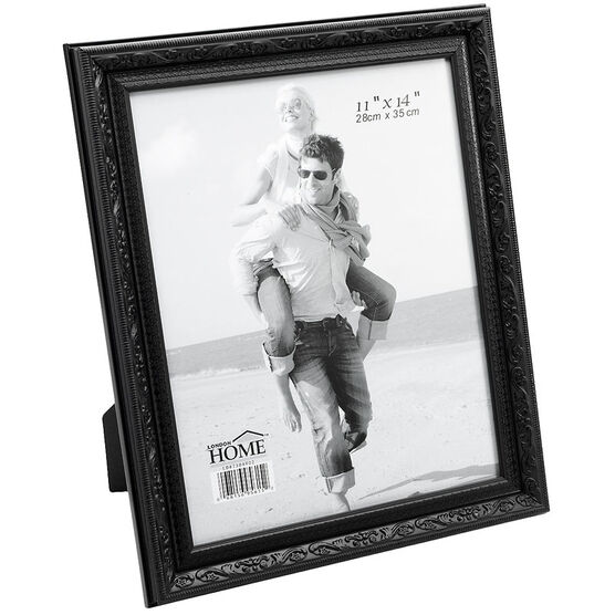 London Home Ornate Frame - Black - 11x14in