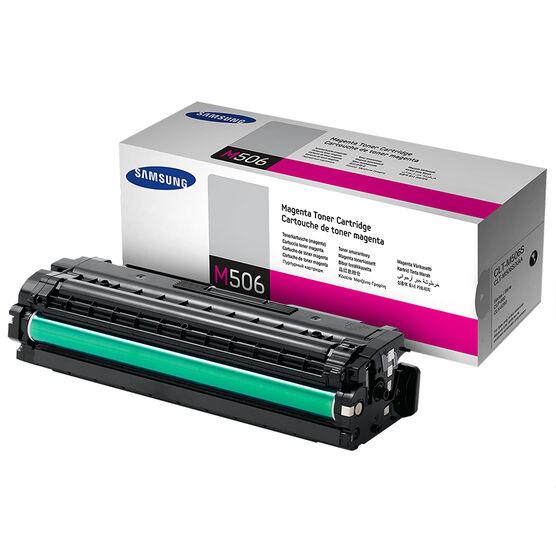 Samsung Magenta - 1,500 Page Yield - CLT-M506S/XAA