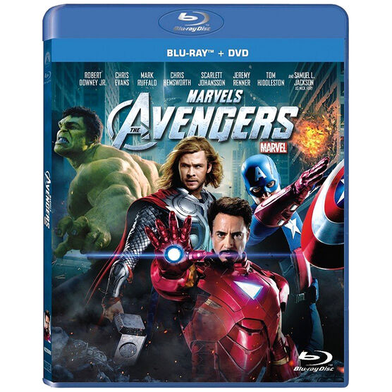 Marvel's The Avengers - Blu-ray + DVD Combo
