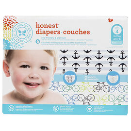 The Honest Company Honest Diapers - Size 4 - 60's - Boys