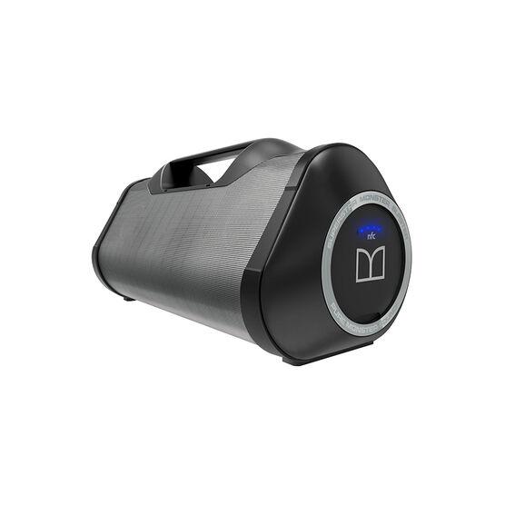 Monster Blaster Bluetooth Boombox - Black/Grey - MSPSPSTRMSTBBTBKGYWW