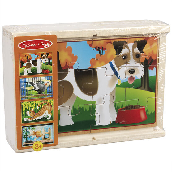 Melissa & Doug - Pet Puzzles in a Box