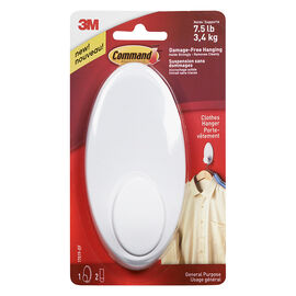 Command™ Clothes Hanger - White - Single