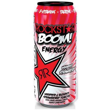 Rockstar Boom Energy Drink - Whipped Strawberry - 473ml