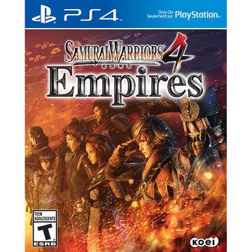 PS4 Samurai Warriors 4 Empires