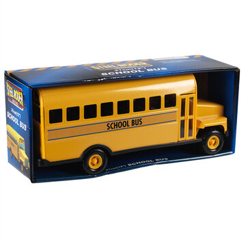 Steel Roder School Bus