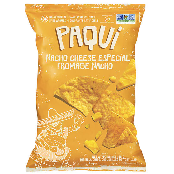 Paqui Tortilla Chips - Nacho Cheese Especial - 155g