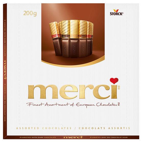 Merci Dark Chocolates - 200g