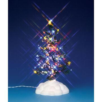 Lemax Lighted Pine Tree - Multicolour - Medium