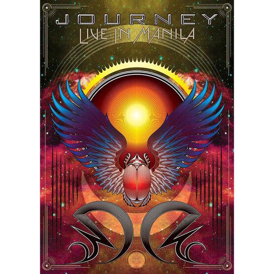 Journey: Live in Manila - DVD + 2 CD