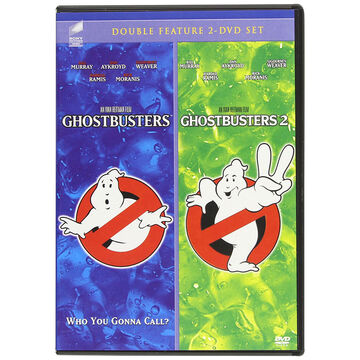 Ghostbusters Double Feature: Ghostbusters 1 and 2 - DVD
