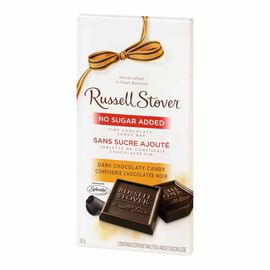 Russell Stover No Sugar Added Dark Chocolaty Candy - 82g