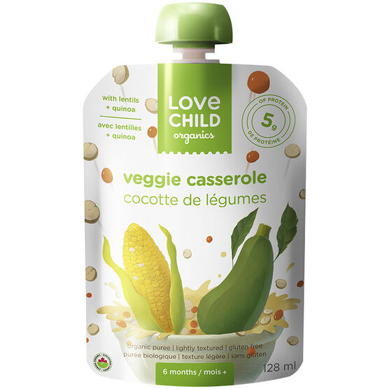 Love Child Veggie Casserole - 128 ml