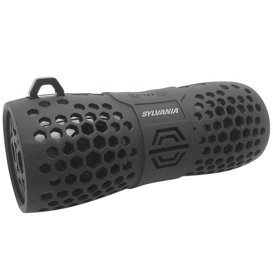 Sylvania Waterproof Bluetooth Speaker - Black - SP332BLA