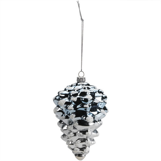 Winter Wishes Two-Tone Pinecone Ornament - XLD2016-28UFOB