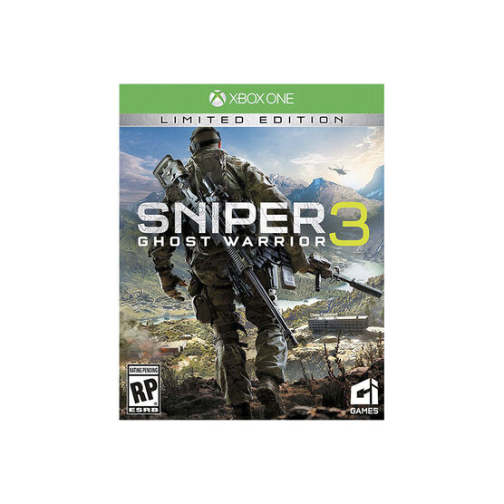 PRE-ORDER: Xbox One Sniper Ghost Warrior 3 Limited Edition