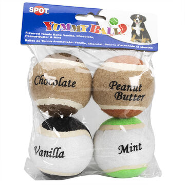 Flavoured Tennis Balls - 4 pack
