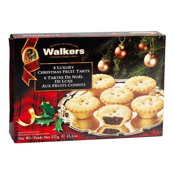 Walkers Fruit Tarts - 6's/372g