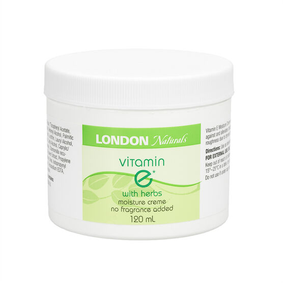 London Naturals Vitamin E Moisture Creme with Herbs - 120ml