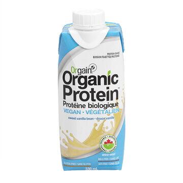 Orgain Organic Protein Vegan Shake - Sweet Vanilla Bean - 330ml