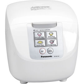 Panasonic 10 cup Logic Rice Cooker - White - SRDF181