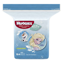 Huggies Naturally Refreshing Baby Wipes - Cucumber & Green Tea - 184's