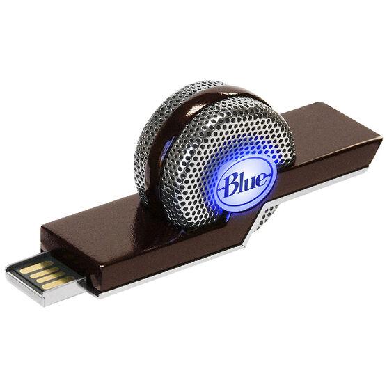 Blue Microphones Tiki Compact USB Microphone - Black/Silver