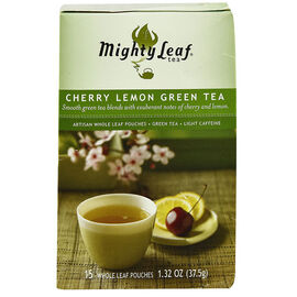 Mighty Leaf Cherry Lemon Green Tea - 15's