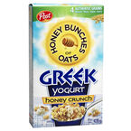 Post Honey Bunches of Oats - Honey Crunch Greek Yogurt - 439g