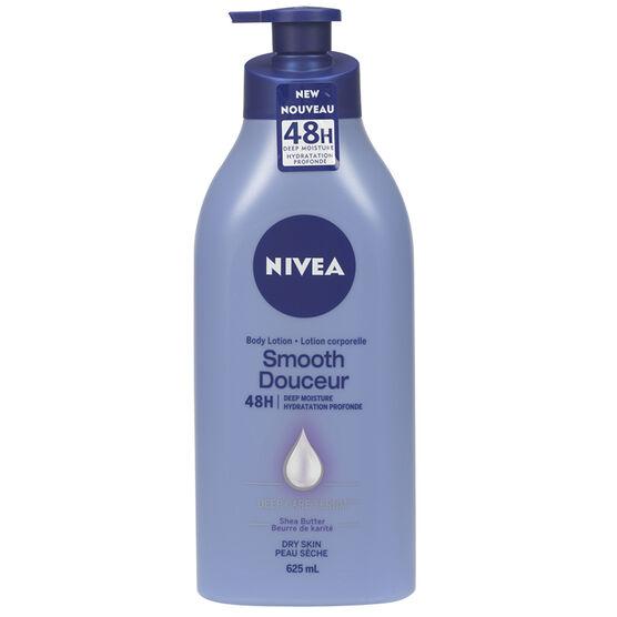 Nivea Smooth Replenishing Body Lotion - 625ml