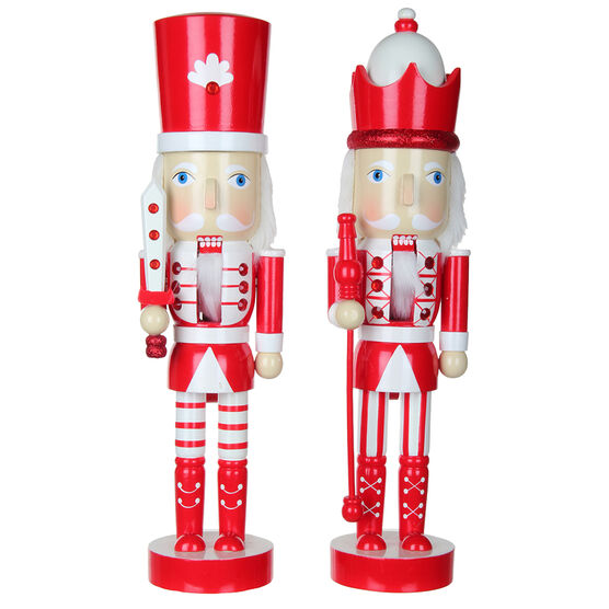 Winter Wishes Candy Cane Lane Nutcracker - 17 inches - Assorted