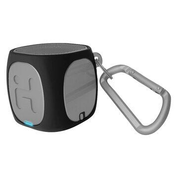 iHome Bluetooth Rechargeable Mini Speaker System - Black/Gray - IBT55BG