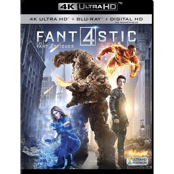 Fantastic Four - 4K UHD Blu-ray
