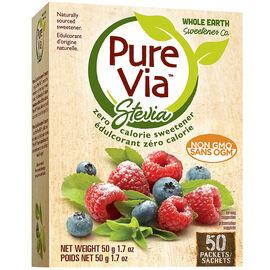 Pure Via Stevia Packets - 50's