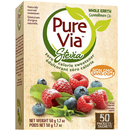Pure Via Stevia Packets - 50's