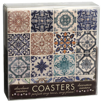 Lisbon Tiles Coaster Set - 4 piece