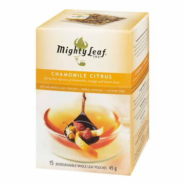 Mighty Leaf Chamomile Citrus Herbal Infusion - 15's