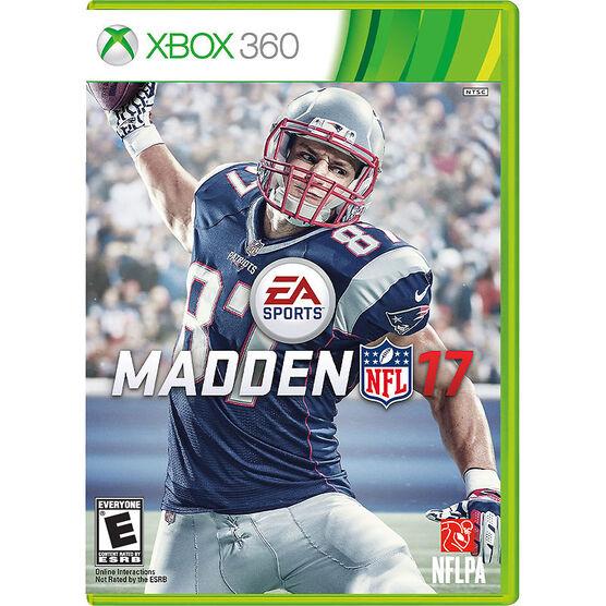 Xbox 360 Madden NFL 17