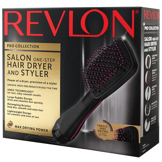 Revlon Pro Paddle Hair Dryer/Styler - Red/Black - RVDR5212FN1
