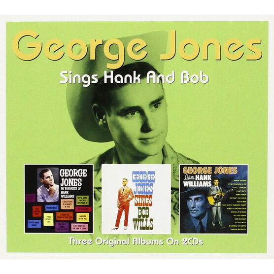 George Jones Sings Hank and Bob - 2 CD