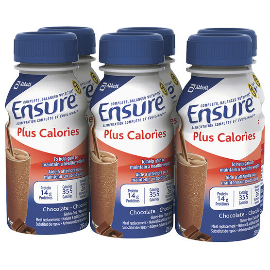 Ensure Plus Calories - Chocolate - 6 x 235ml