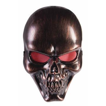 Halloween Bronze Skull Mask