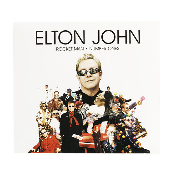 Elton John - Rocket Man: Number Ones - CD