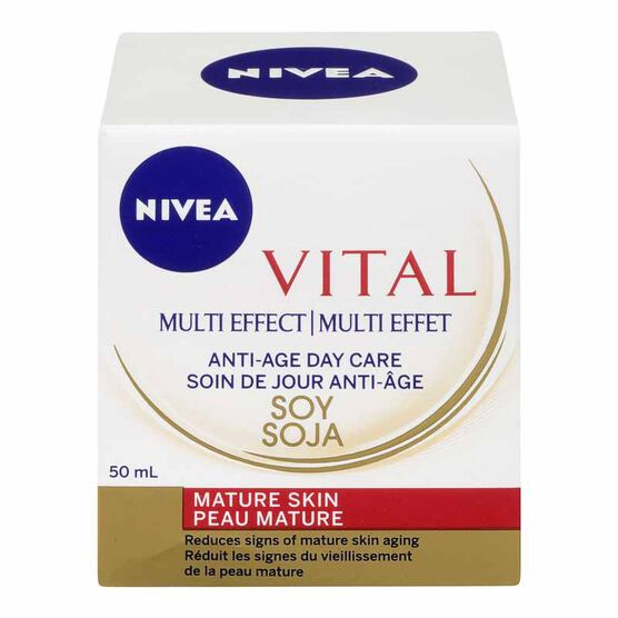 Nivea Visage Vital Multi-Effect Anti-Age Day Care - 50ml