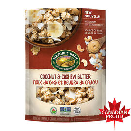Nature's Path Granola - Coconut & Cashew Butter - 312g
