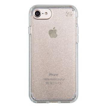 Speck Presidio Clear Glitter for iPhone 7 - Gold Glitter - SPK799895636